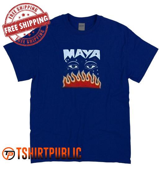 Maya Millie Bobby Brown T Shirt Adult Free Shipping - Cheap Graphic Tees