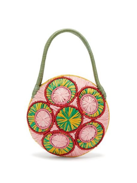 Sophie Anderson - Saba Woven Raffia Bag - Womens - Green Multi