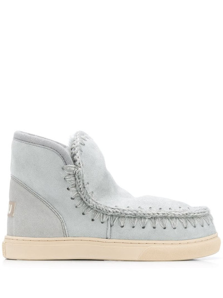 Mou Eskimo ankle boots in grey