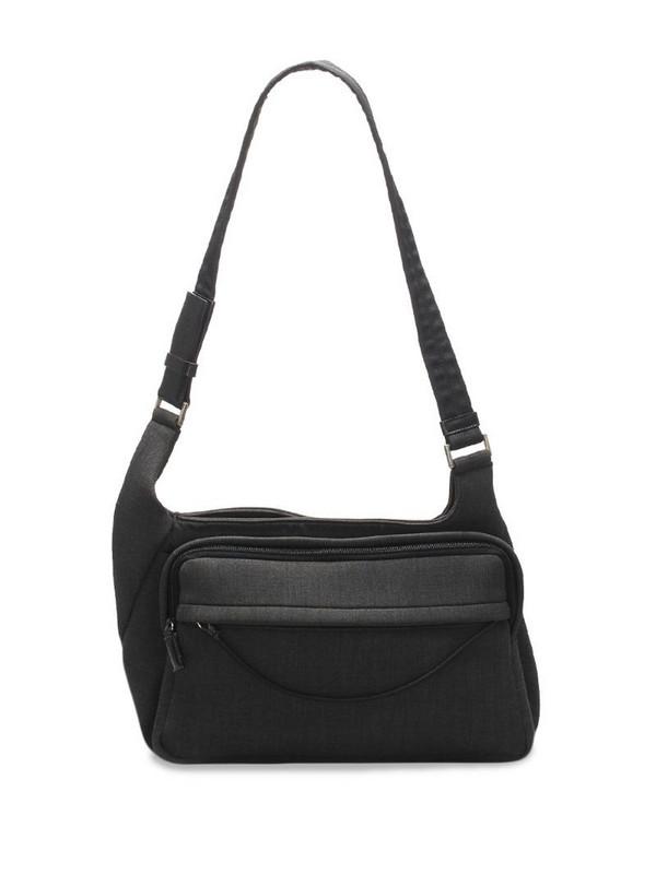 Prada Pre-Owned zip-fastening shoulder bag in grey