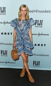 dress,ruffle,ruffle dress,blue dress,nicky hilton,celebrity
