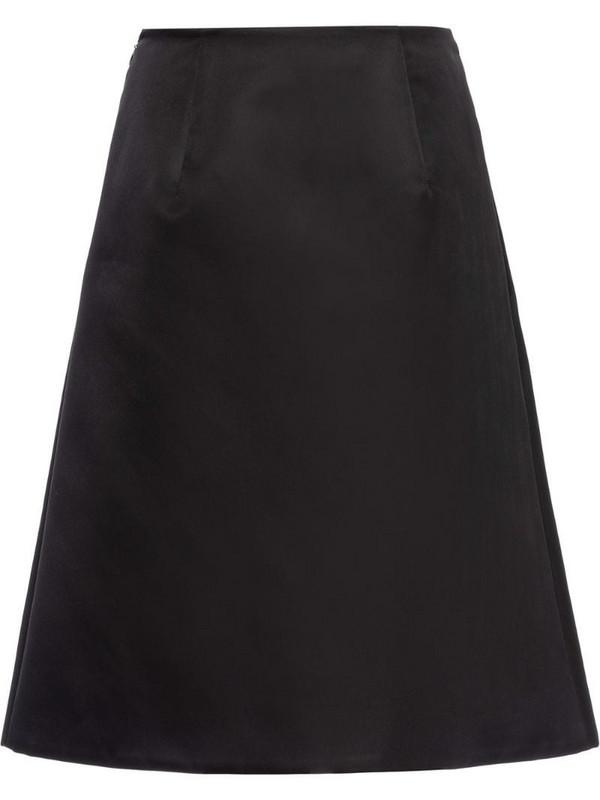 Prada Re-Nylon gabardine skirt in black