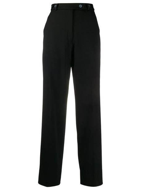 Giorgio Armani Pre-Owned 1990s high-waisted trousers in black