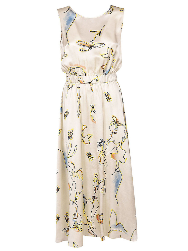Forte Forte Floral Dress in white