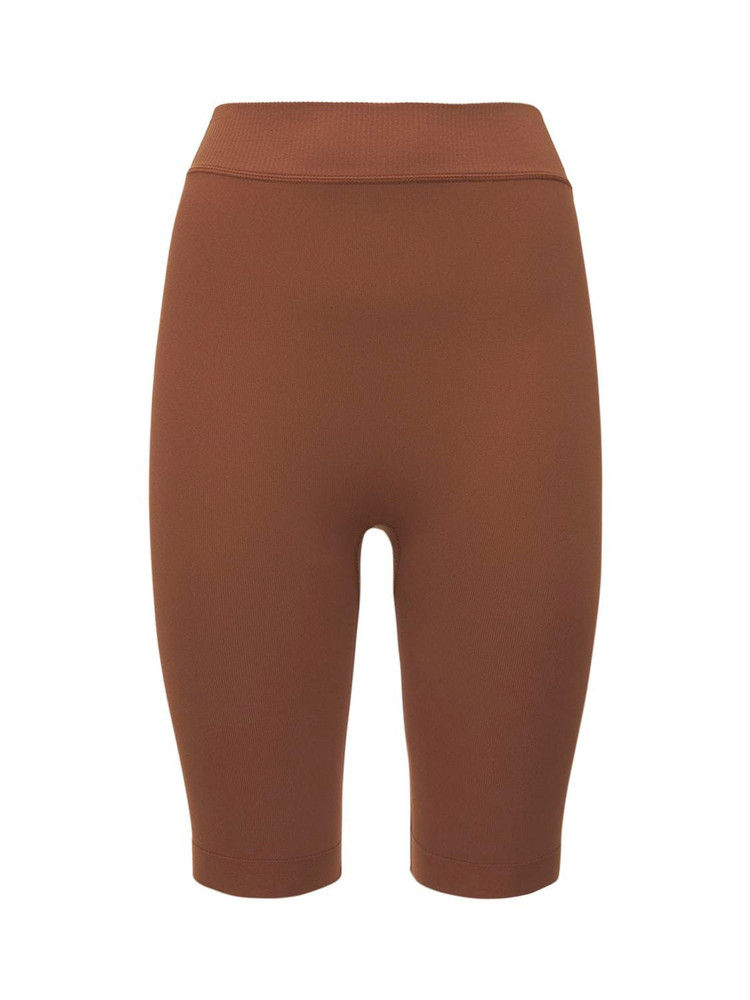 VAARA Ashley Essential Seamless Shorts in brown