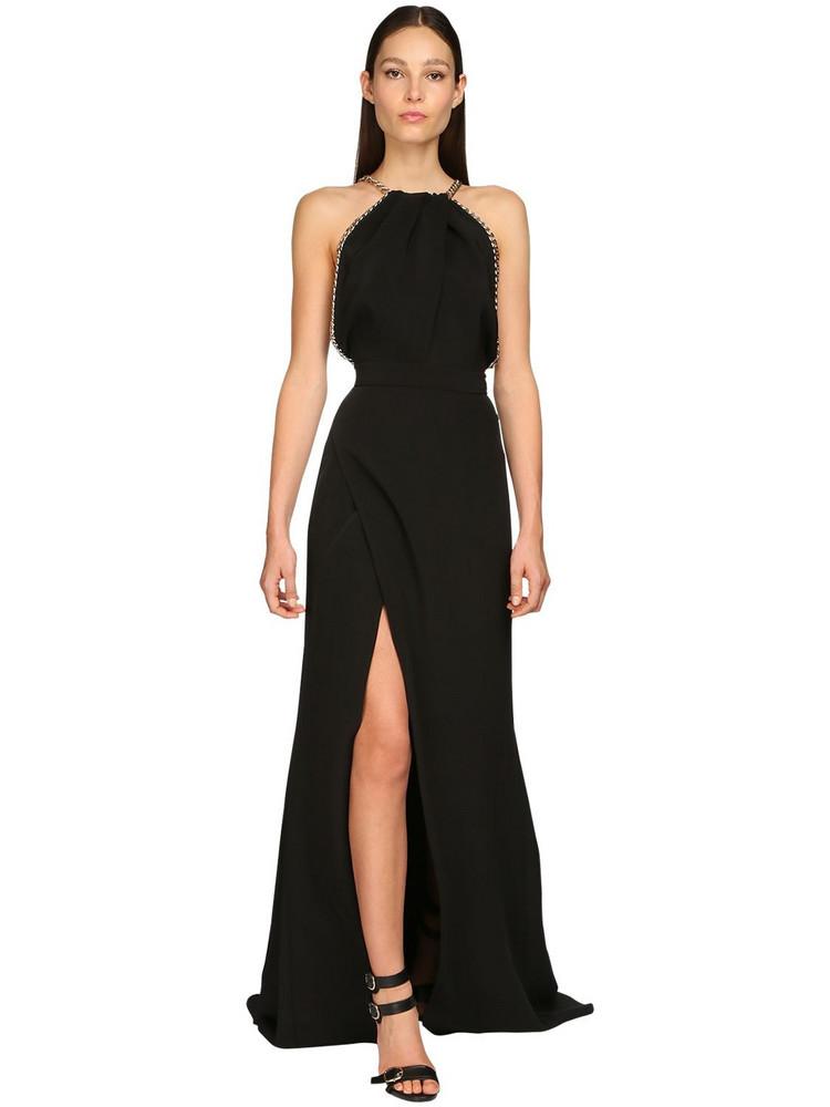 ELIE SAAB Cady Long Dress in black