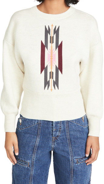 Isabel Marant Etoile Luzco Pullover in grey