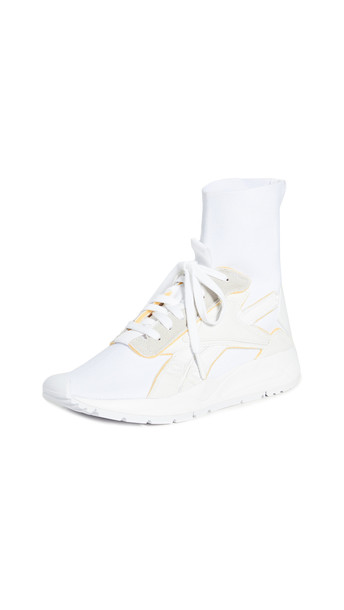 Reebok x Victoria Beckham VB Bolton Sock Sneakers in white