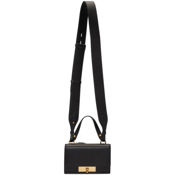 Alexander McQueen Black Small Skull Lock Bag