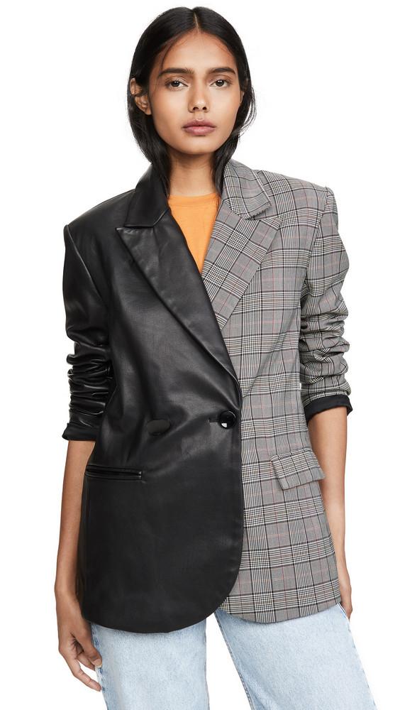 VEDA Split Viviane Blazer in black