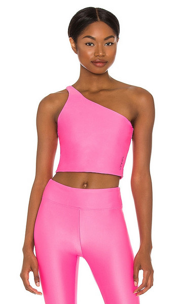 KORAL Attract Energy Top in Pink in plum