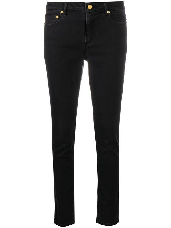 Michael Michael Kors mid-rise skinny jeans in black