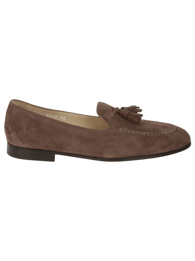 Doucal's Tassel Loafers in brown