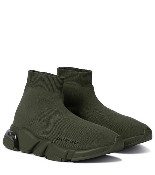 Balenciaga Speed sneakers in green