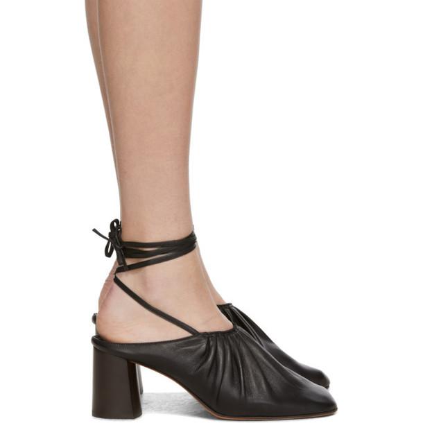 3.1 Phillip Lim Black Nadia Heels