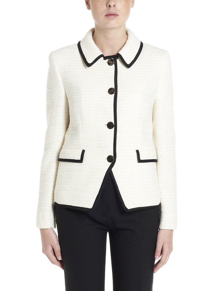 Boutique Moschino Jacket in white