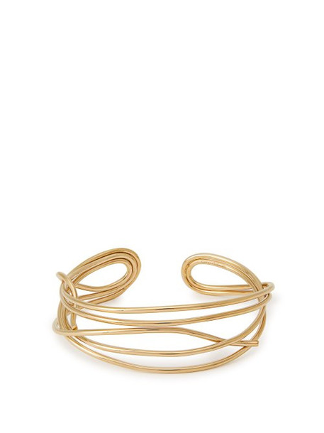 Completedworks - The Ingenuities Of Debt Gold Vermeil Cuff - Womens - Gold