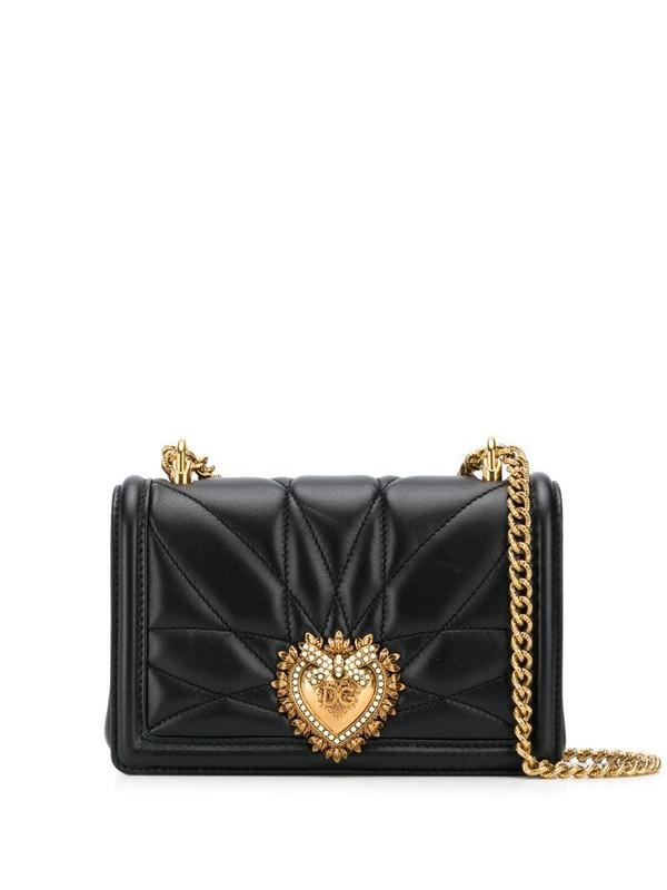 Dolce & Gabbana small Devotion crossbody bag in black