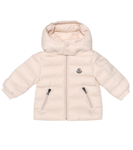 Moncler Enfant Baby Jules quilted down coat in pink
