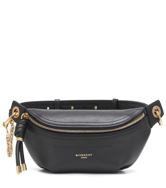Givenchy Whip Small leather belt bag in black