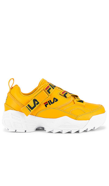 Fila Fast Charge Sneaker in Yellow