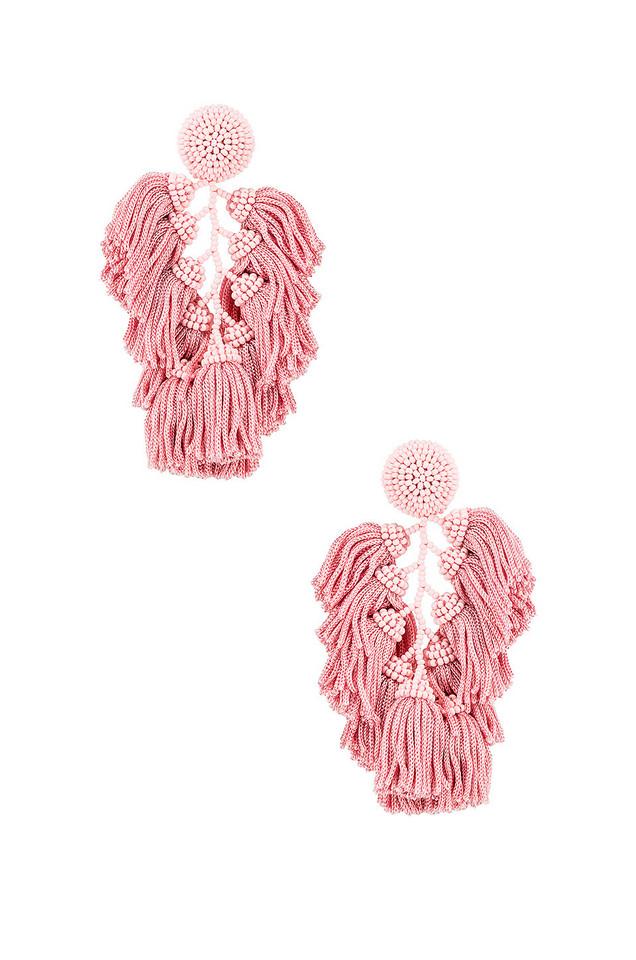 Sachin & Babi Cha Cha Earrings in pink