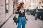 le happy,blogger,top,shoes