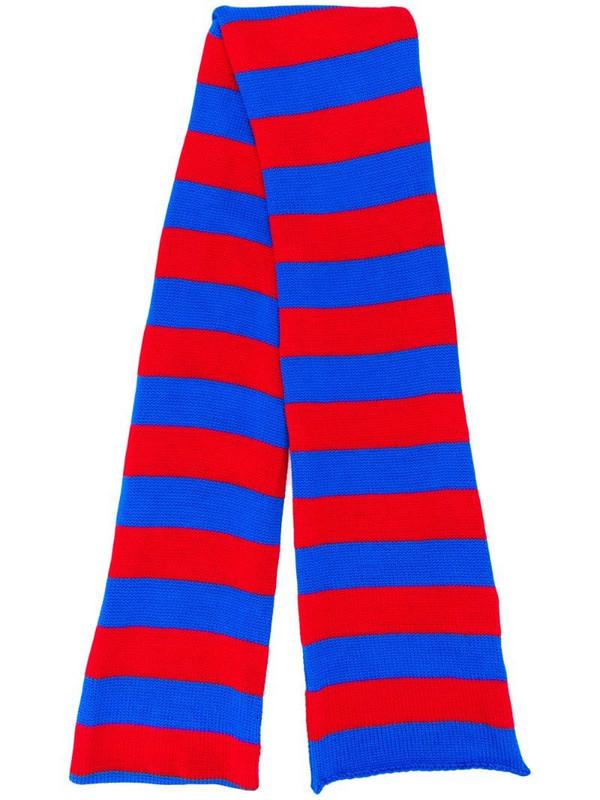 La Doublej Knitted Skinny scarf in blue