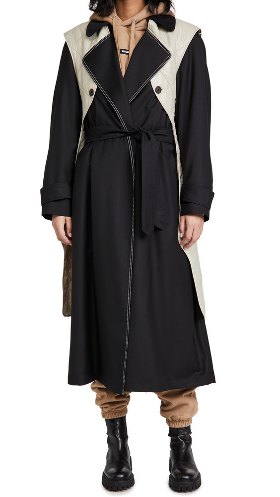 By any Other Name French Coat in black