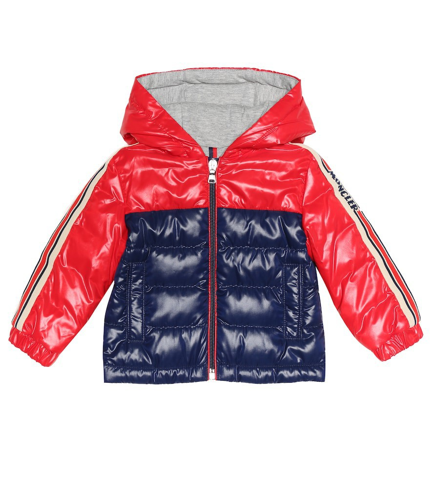 Moncler Enfant Baby Jonc down puffer coat in red