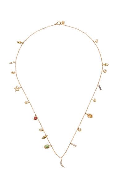 SCOSHA 14K Gold And Multi-Stone Necklace