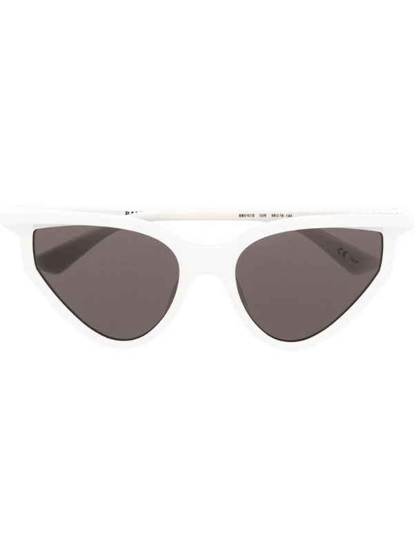 Balenciaga Eyewear cat-eye sunglasses in white