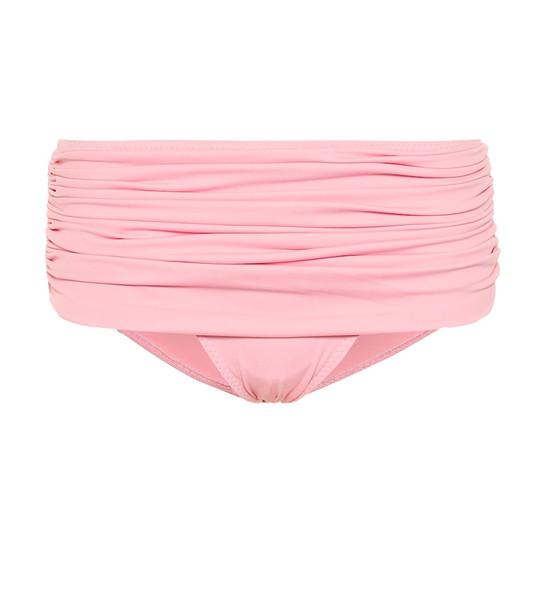Norma Kamali Bill bikini bottoms in pink