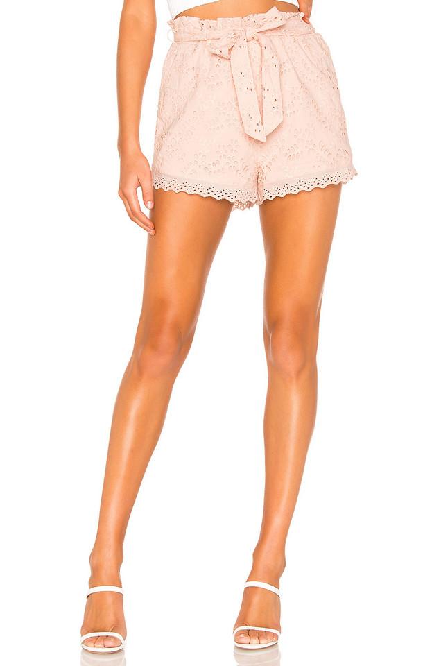 Tularosa Lounge Lover Shorts in pink