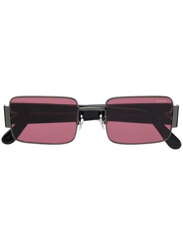 Retrosuperfuture Z square tinted sunglasses in black