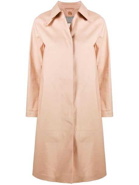 Mackintosh Dunkeld bonded cotton coat in neutrals