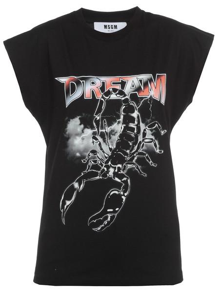 MSGM T-shirt Dream Print