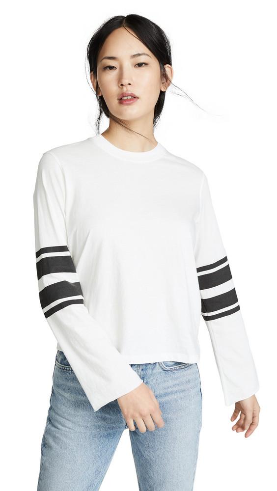 David Lerner Bell Sleeve Top in white
