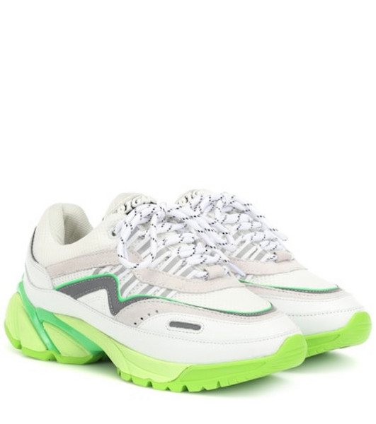 Axel Arigato Exclusive to Mytheresa – leather and mesh sneakers in white