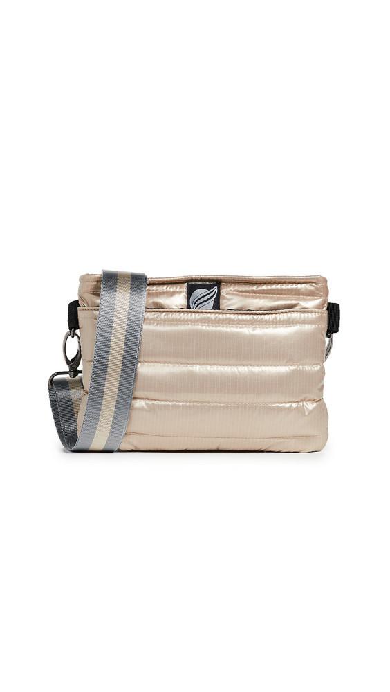 Think Royln Convertible Belt Crossbody Bag in gold