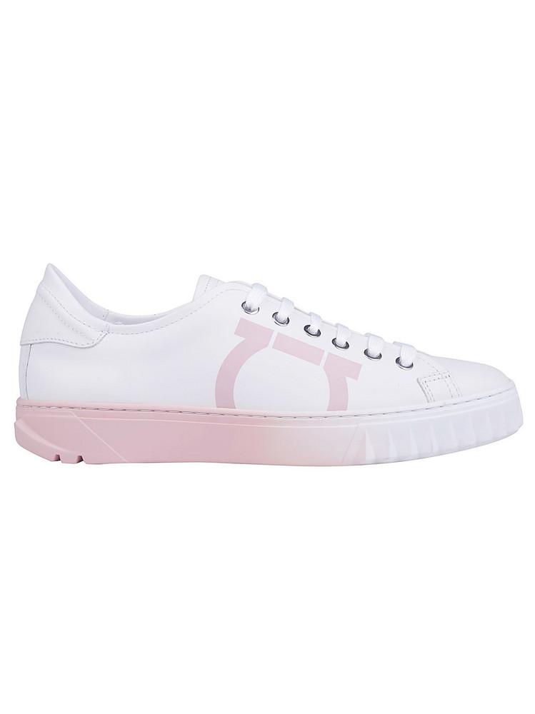 Salvatore Ferragamo Cube8 Sneakers in white
