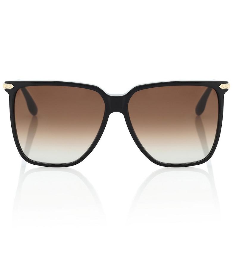 Victoria Beckham Oversized square sunglasses in black