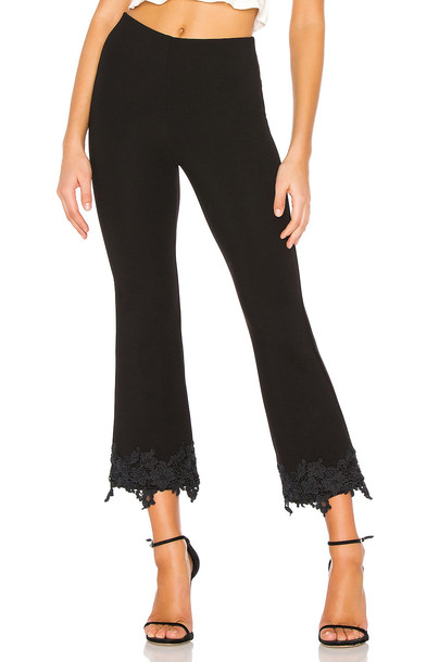 Bailey 44 Petite Four Ponte Pant in black