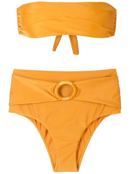 ESC Sun hire rise bikini set in yellow