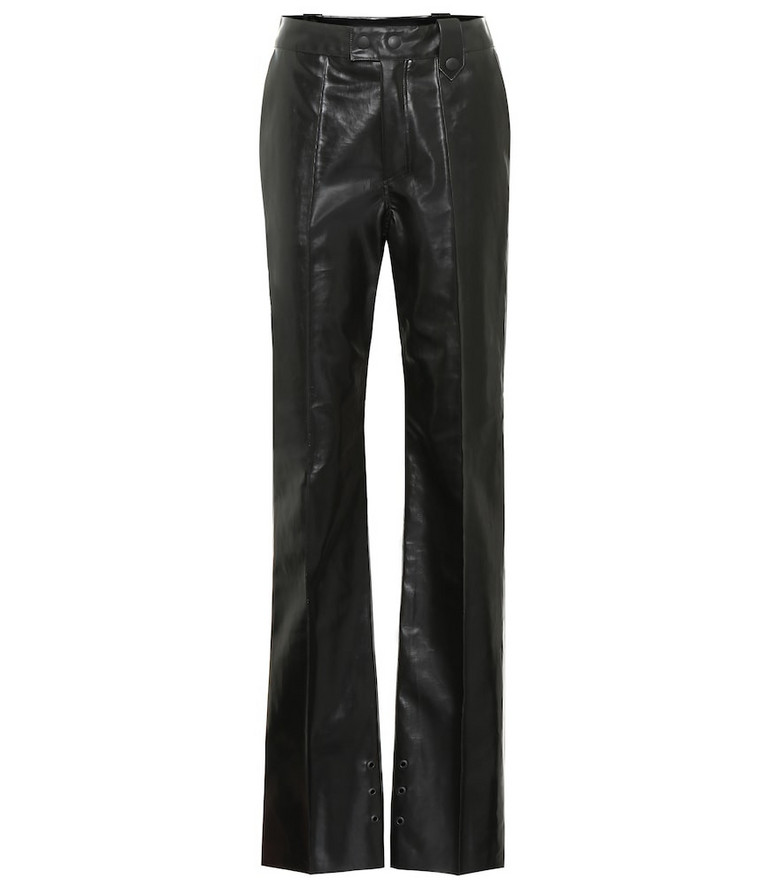 Kwaidan Editions Faux leather pants in black