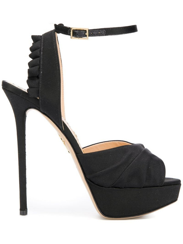 Charlotte Olympia Serena sandals in black