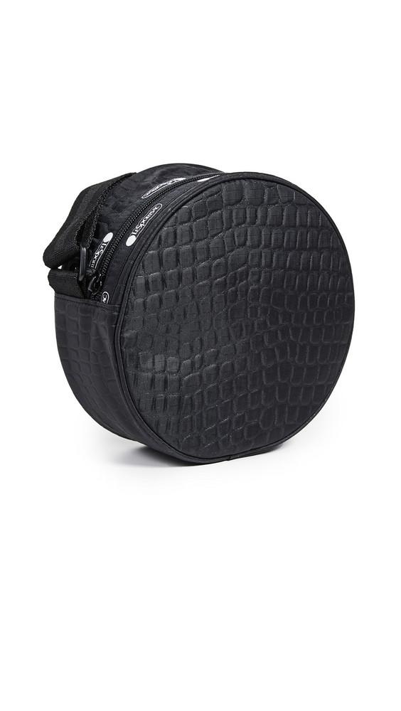 LeSportsac Carlin Canteen Crossbody Bag in black