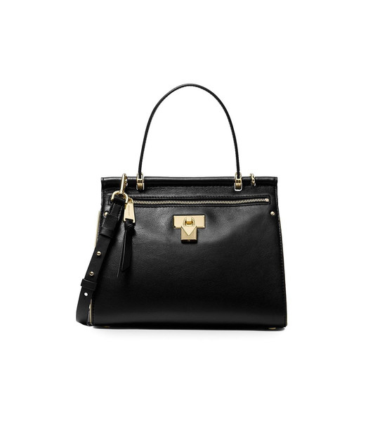 Michael Kors Black Jasmine Medium Satchel Bag