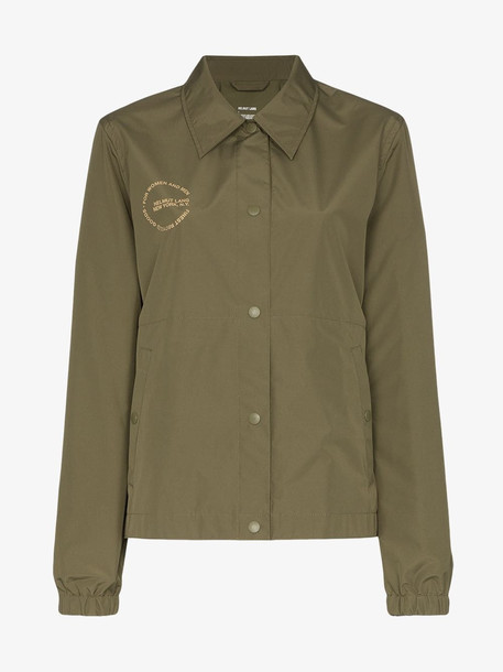 Helmut Lang x Parley for the Oceans recycled utility jacket in green
