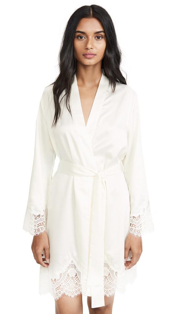 Simone Perele Eclipse Kimono in ivory